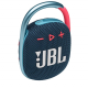 JBL Clip 4 Ultra-Portable IP67 Water & Dustproof Bluetooth Speaker with Upto 10 Hours Playtime (Without Mic, Blue & Pink)