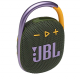 JBL Clip 4 Ultra-Portable IP67 Water & Dustproof Bluetooth Speaker with Upto 10 Hours Playtime (Without Mic, Green)