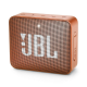 JBL Go 2, Wireless Portable Bluetooth Speaker with Mic, JBL Signature Sound, Vibrant Color Options with IPX7 Waterproof & AUX (Orange)